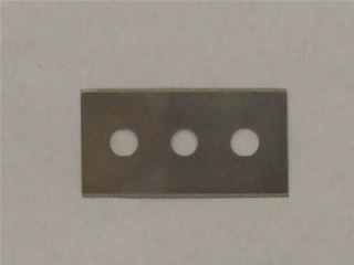 Scraper | Ceramic hob replacement blades pk10 Size 43x22mm | Part No:481281728162