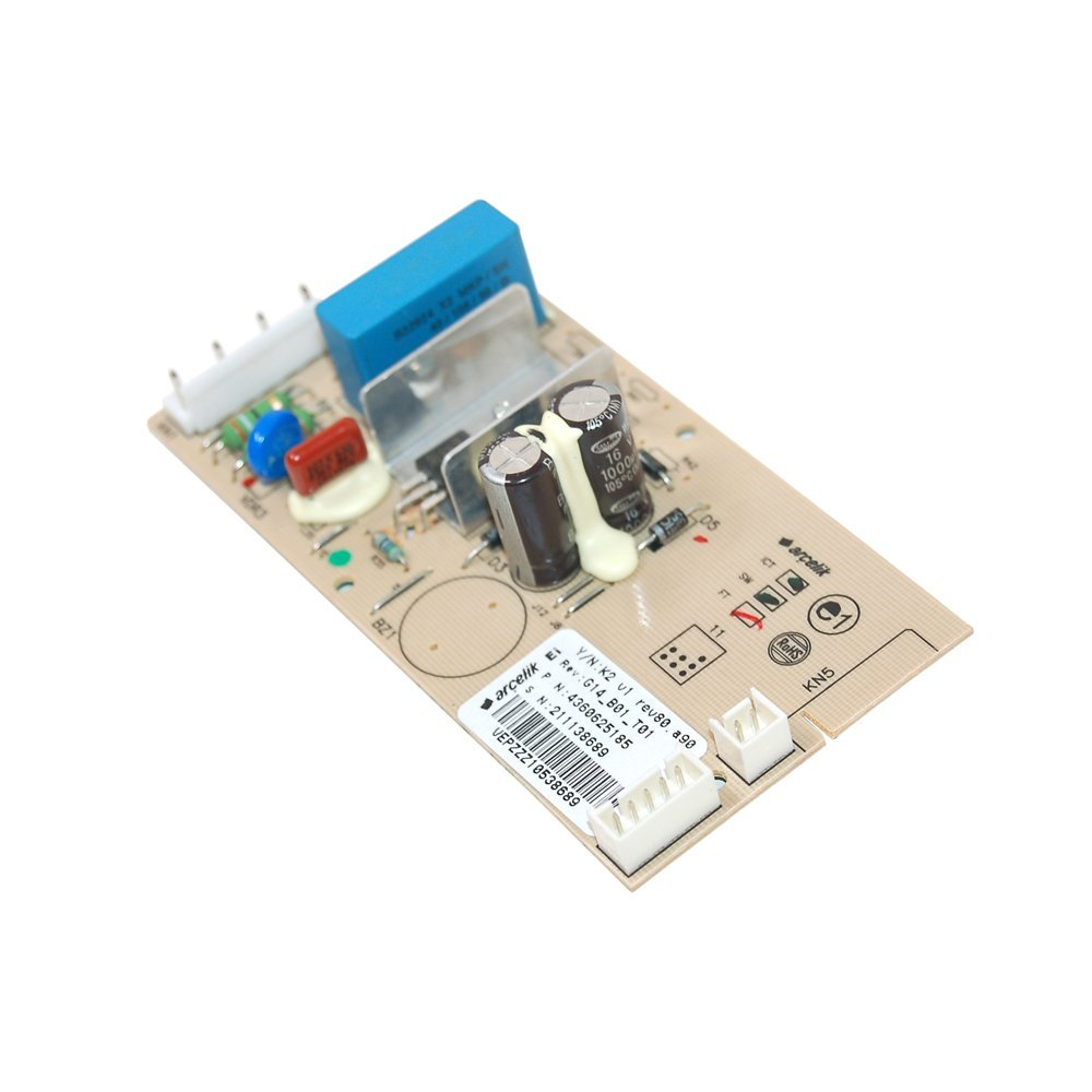 Control PCB | Fridge Freezer Module - Modules are not under warranty by the OEM as their policy is central to the fact they are not present at the time of fitting and thus cannot assess the expertise of the fitter | Part No:4360620185